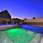 Pool with LED Lights