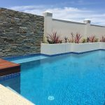 Concrete Pool Feature and Deck