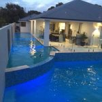 Tiered Concrete Swimming Pool