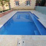 Geometric Concrete Pool