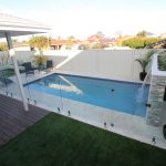 Concrete Pool and Feature