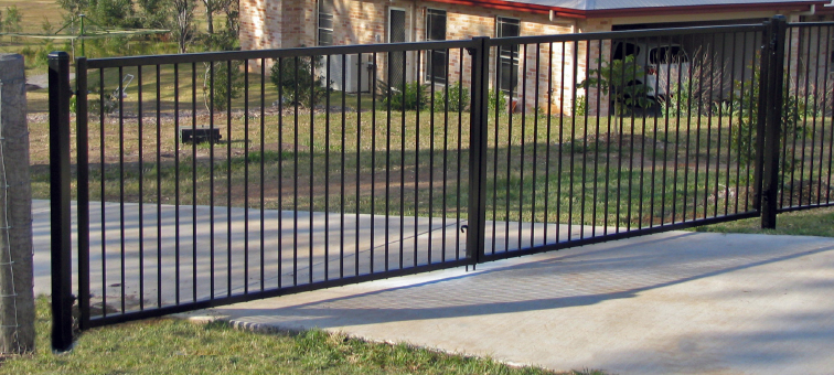 Automatic gates tropical pools
